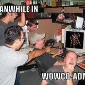 Meanwhile in wowco admin 6d71f8