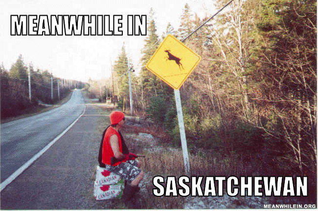 - Yes! From saskatchewan, this is so true haha